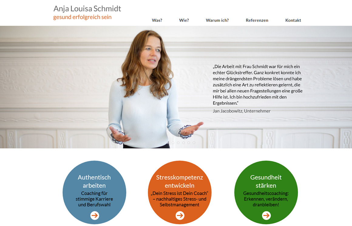 Anja Louisa Schmidt - Coaching